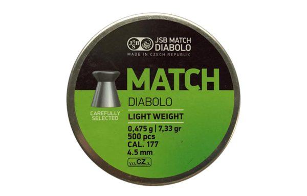MATCH DIABOLO LIGHT WEIGHT CAL. 4.5