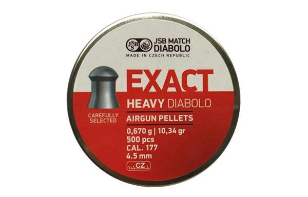 EXACT HEAVY DIABOLO CAL. 4.5