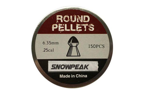 SNOWPEAK ROUND PELLET 6.35