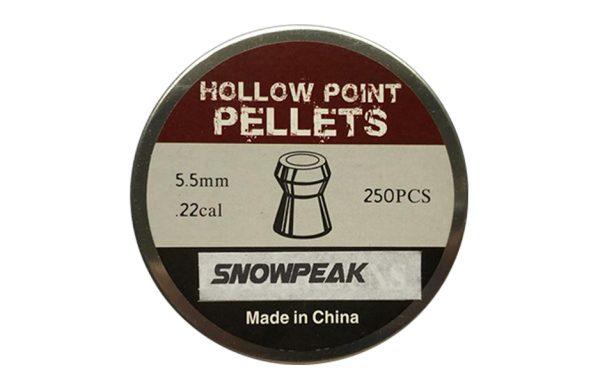 SNOWPEAK HOLLOW POINT PELLET 5.5